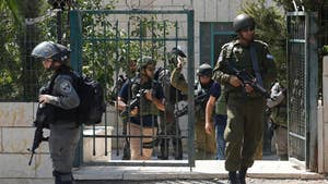 A Palestinian man shot three Israeli security officers dead and critically wounded a fourth; Conor Powell reports from Jerusalem