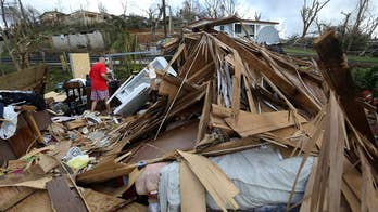 Puerto Rico faces growing humanitarian crisis following devastation blow from Hurricane Maria; Garrett Tenney reports from San Juan