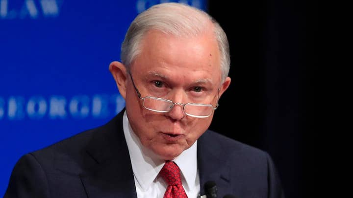 Sessions defends campus free speech during Georgetown visit