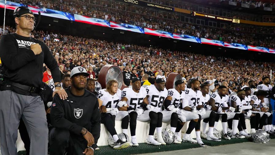 National Football League has very specific 'free speech' points; 'Fox & Friends' panel sounds off on flag protests in football