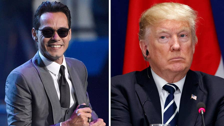 Fox411: Marc Anthony took to Twitter to rip President Trump about his NFL comments, saying he should focus instead on hurricane-hammered Puerto Rico