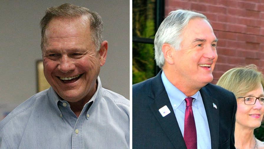 Republican candidates Roy Moore and Luther Strange make last pitch to voters; correspondent Peter Doocy has the latest from Birmingham