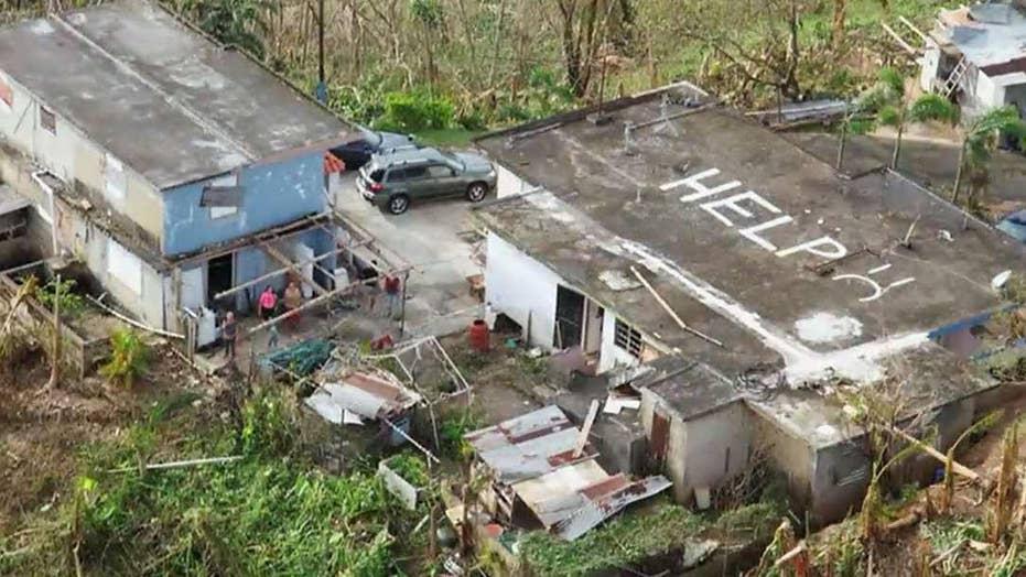 Geraldo Rivera: Civilization being tested in Puerto Rico