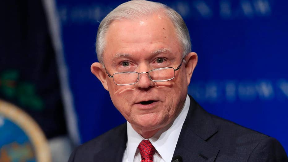 Sessions: Freedom of speech on US campuses under attack