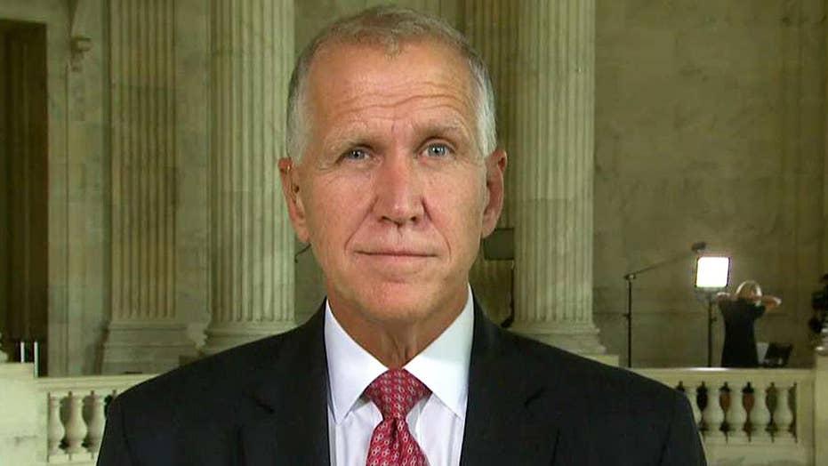 Sen. Tillis: GOP needs to find a solution for ObamaCare