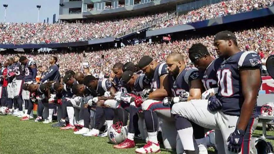 NFL national anthem debate continues to gain momentum