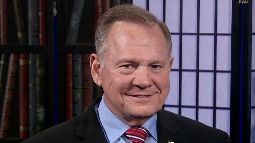 On 'Fox & Friends,' the Alabama runoff winner addresses critics' concerns about how he would work with establishment Republicans
