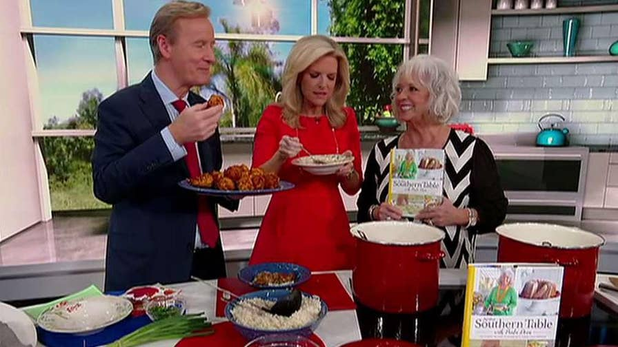 Chef and author details new cookbook on 'Fox & Friends'