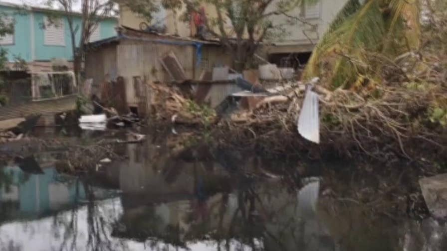 Fox News reporter Garrett Tenney gives a first-hand look at the devastating flooding that is ongoing in Puerto Rico