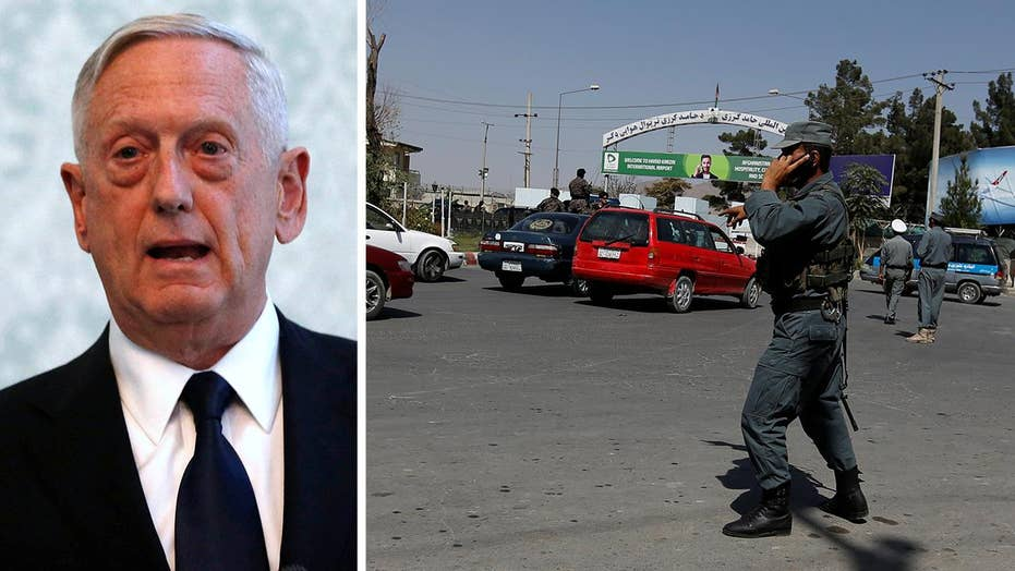 Taliban claims Mattis was target in Kabul airport attack