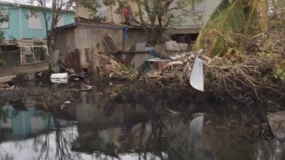 Hurricane Maria: See the ongoing flooding in Puerto Rico