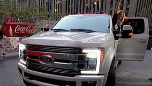 Super Duty truck revealed on 'Fox & Friends.'
