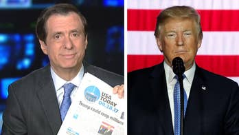 'MediaBuzz' host Howard Kurtz reacts to critics who slam President Trump for being able to 'reap millions' from his GOP tax refrom plan.