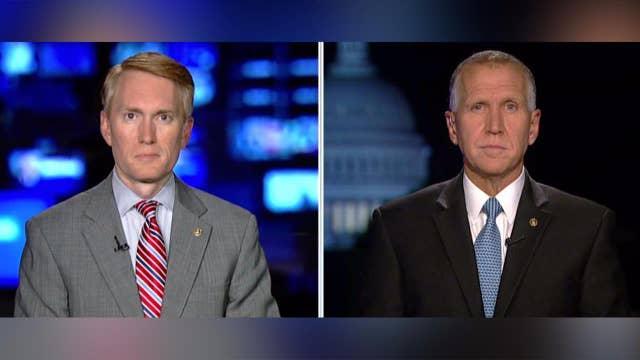 Sens. Lankford and Tillis talk legislation to replace DACA