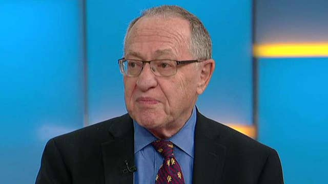 Dershowitz: Campus protesters afraid of differing opinions