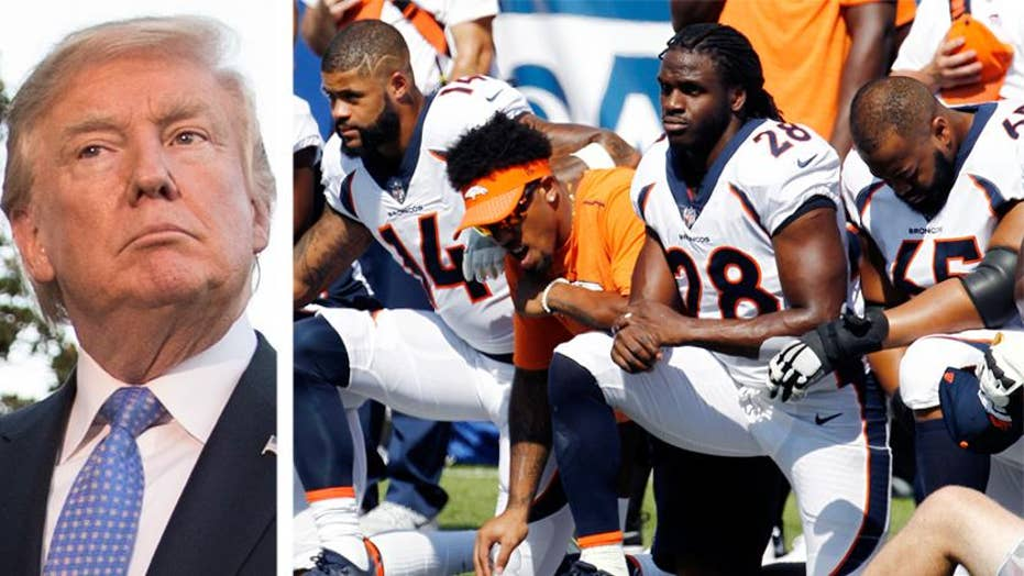 President Trump: NFL issue is not a distraction at all