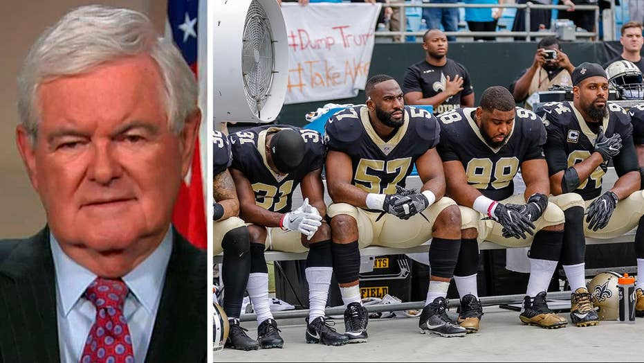 Gingrich: US faces big decision on patriotism vs. decay