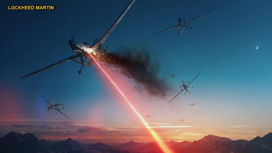 ATHENA laser weapon 'kills' 5 Outlaw drones
