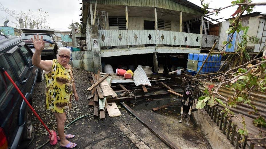 White House defends response to Hurricane Maria