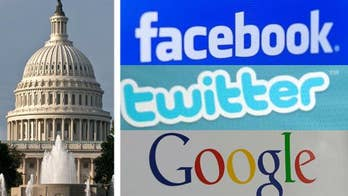 Tech giants are asked to appear before Congress as new study claims 'fake news' targeted swing states during the election.