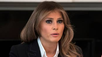 Stephanie Grisham, director of communications for the first lady's office, says it's 'unfortunate' that a Massachusetts school librarian returned books donated by Melania Trump.