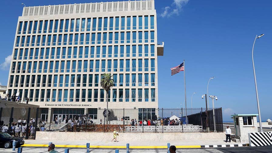 60 percent of staff ordered to leave embassy in Havana due to 'specific attacks' on diplomats in Cuba.