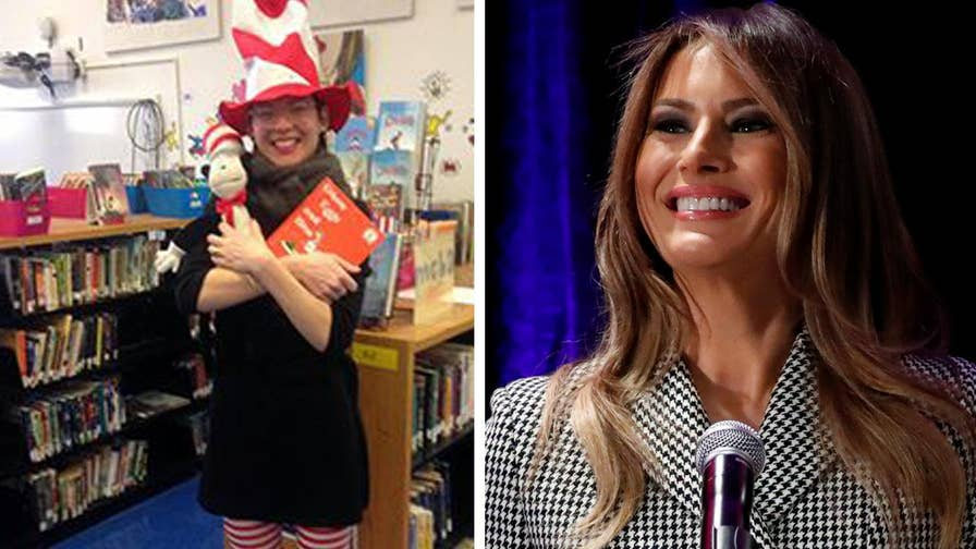 A Massachusetts librarian rejects a trove of Dr. Seuss books from First Lady Melania Trump. What the librarian is saying to the First Lady and why it might be considered hypocritical.