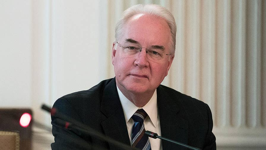cabinet secretary hhs tom price resigns plane trips 13033