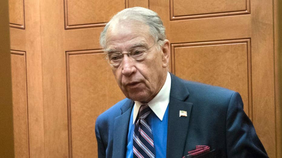 Sen. Grassley threatens FBI with subpoenas