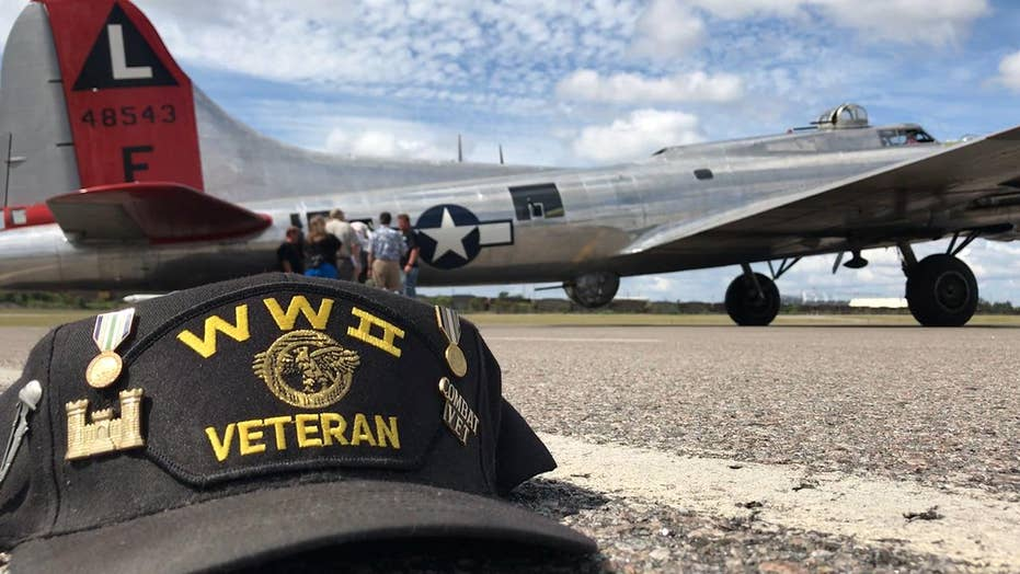 Volunteers fly a B-17 across the US to honor WWII veterans