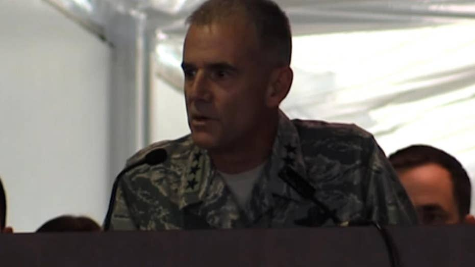 US Air Force Academy Head strong anti-racism speech