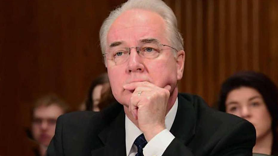 Was Tom Price's resignation the right move?