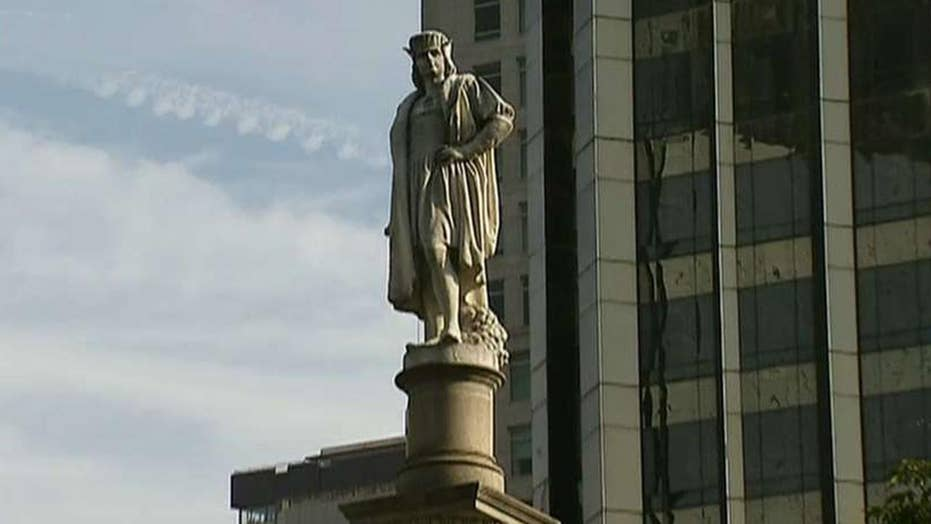 Long Island town welcomes all unwanted Columbus statues