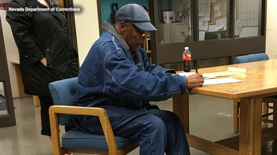 OJ Simpson released on parole from Nevada prison