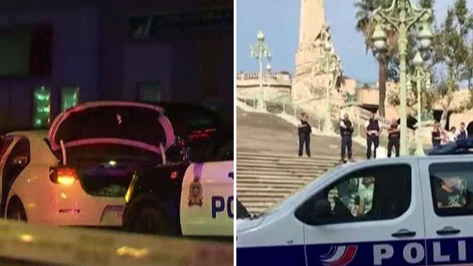 France and Canada investigate apparent terror attacks