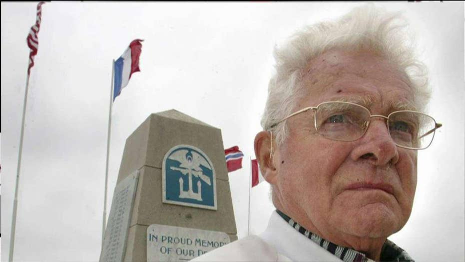 WWII paratrooper portrayed in 'Band of Brothers' dead at 96