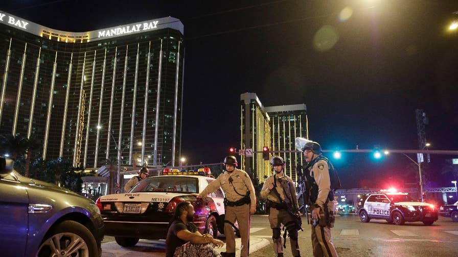 Gunman opened fire during open-air concert on the Las Vegas strip