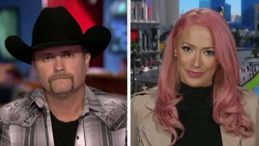 Country music artists open up about Las Vegas tragedy on 'Hannity.'