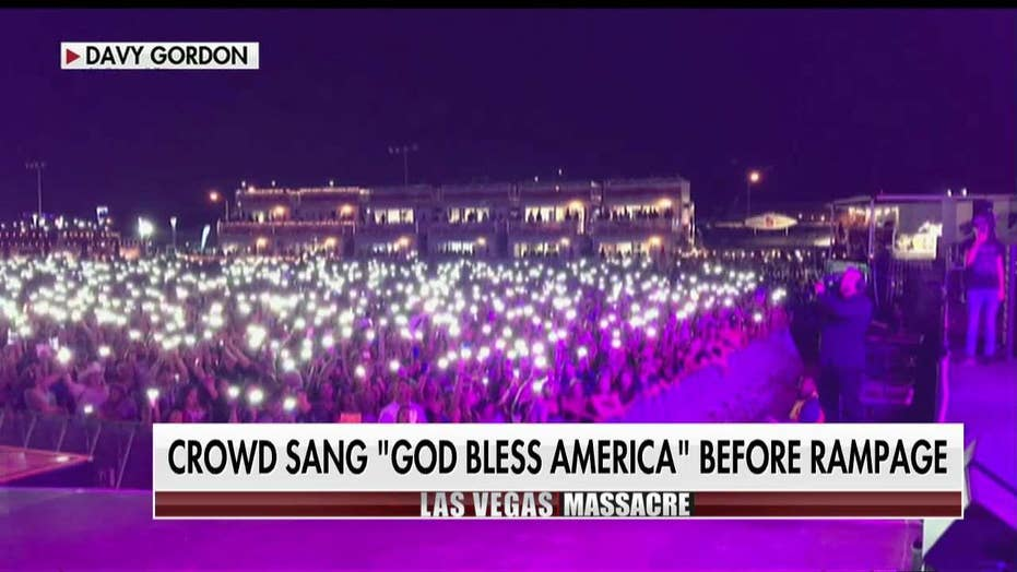 Big & Rich Sings 'God Bless America' With Crowd Before Las Vegas Shooting
