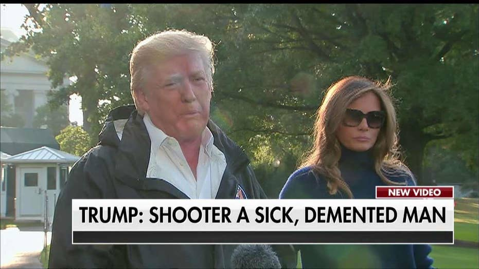 Trump: Las Vegas Shooter a 'Sick, Demented Man'