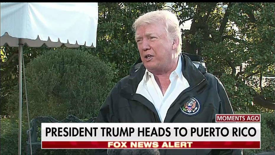 Trump on Puerto Rico Recovery: They Have to Help Us on a Local Level