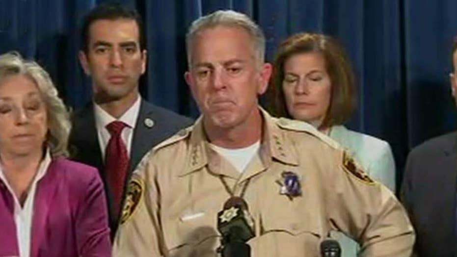 Sheriff Lombardo defends timing of response to Vegas attack