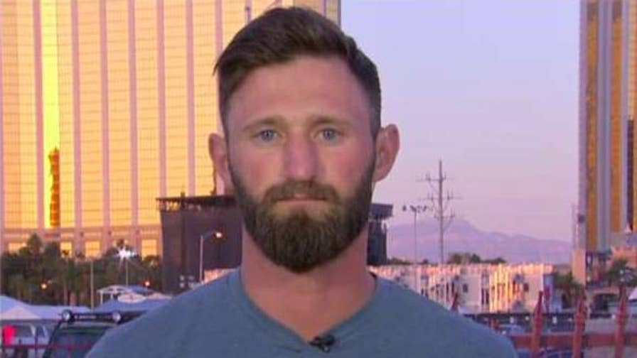 Concert shooting hero Taylor Winston speaks out on 'America's Newsroom.'