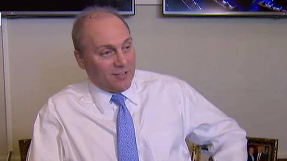 Behind the scenes with Steve Scalise