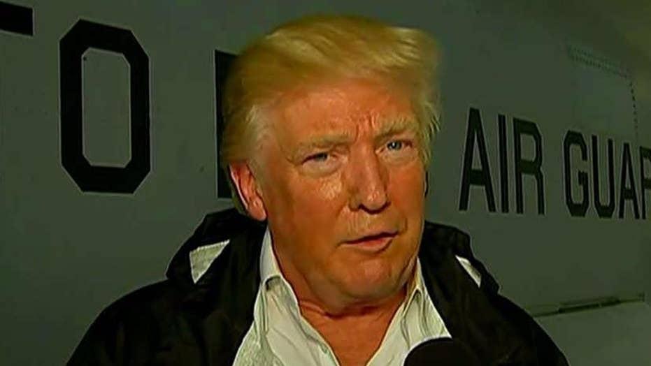 President Trump on Puerto Rico's hurricane recovery