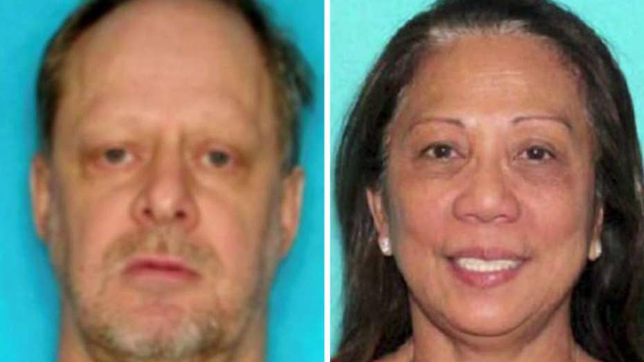 Vegas shooter's girlfriend questioned amid search for motive