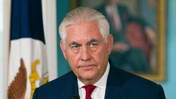 Reports of Rex Tillerson resigning, calling President Trump a moron deemed false.
