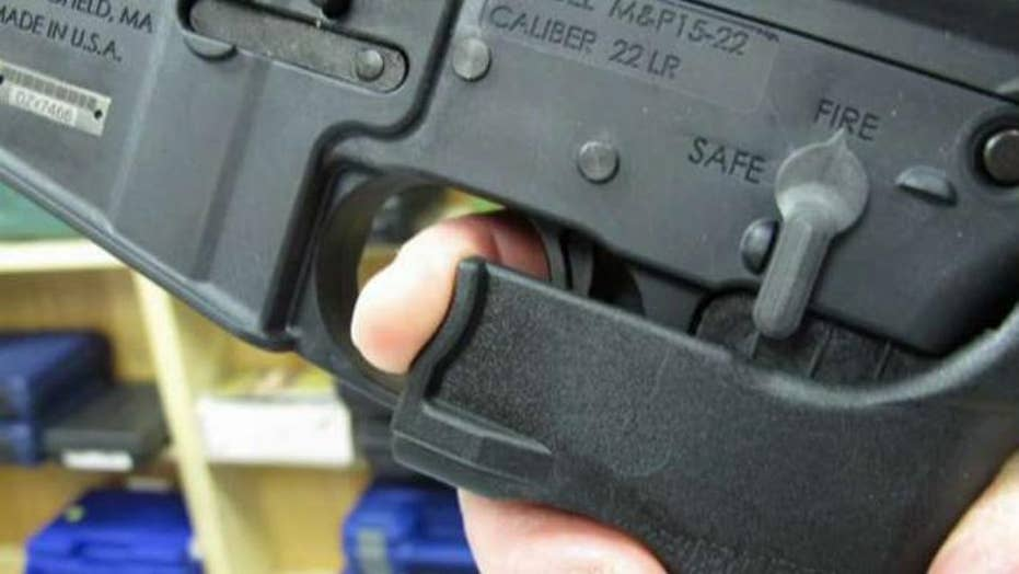 New push to ban bump stocks to fire guns faster