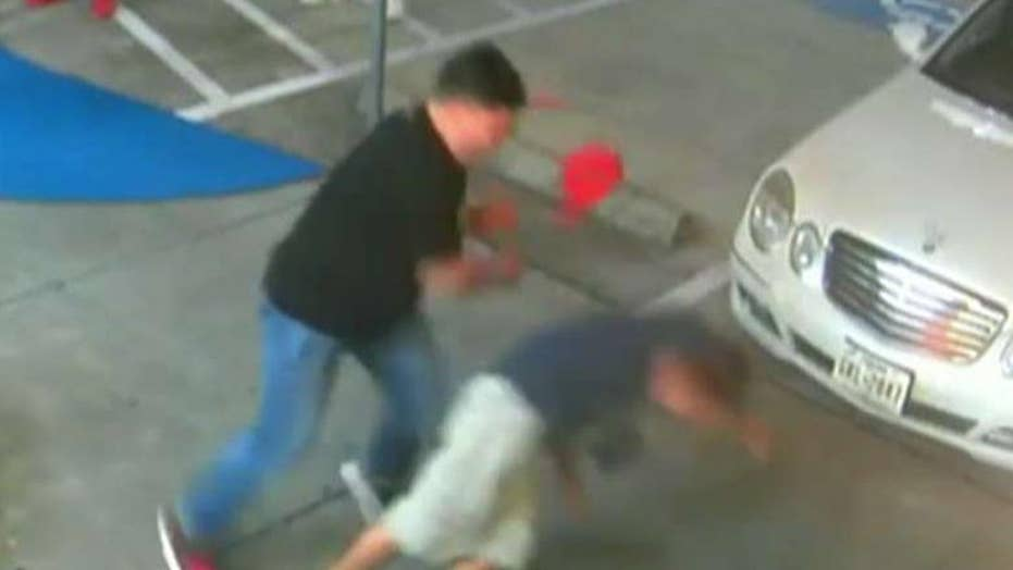 Sucker punch sends victim to the hospital
