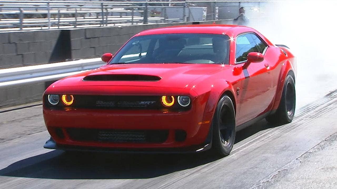 2018 Dodge Challenger SRT Demon test drive | Fox News